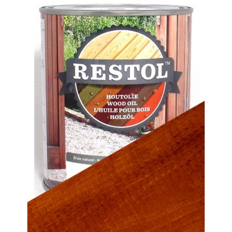 Huile pour bois Restol chene fonce