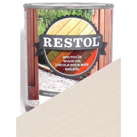 Rendu du Restol blanc perle en une, deux ou trois couches