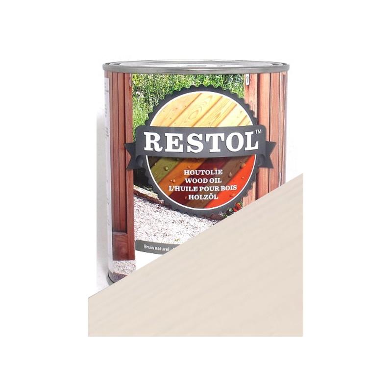 restol blanc perle traitement protection bois huile lin 100 naturelle. Black Bedroom Furniture Sets. Home Design Ideas