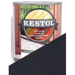 Huile de protection bois Restol Gris anthracite
