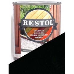 Huile de protection bois Restol Noir ébène