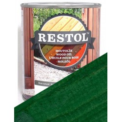 Huile de protection bois Restol Vert pin