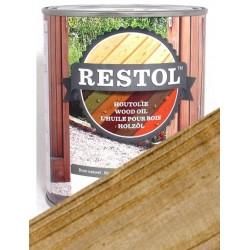 Huile de protection bois Restol Incolore avec filtre UV