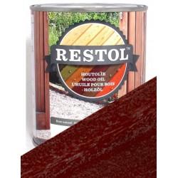 Huile pour bois Restol Brun Exotique