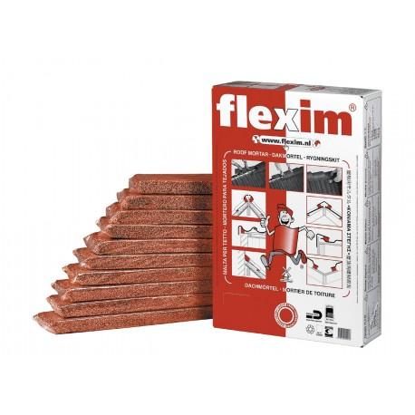 Flexim Mortier de toiture rouge