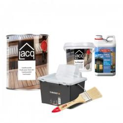 Pack économique de nettoyage et protection des terrasses